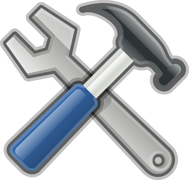 Hammer, Wrench, Repair, Work, Industry, Service