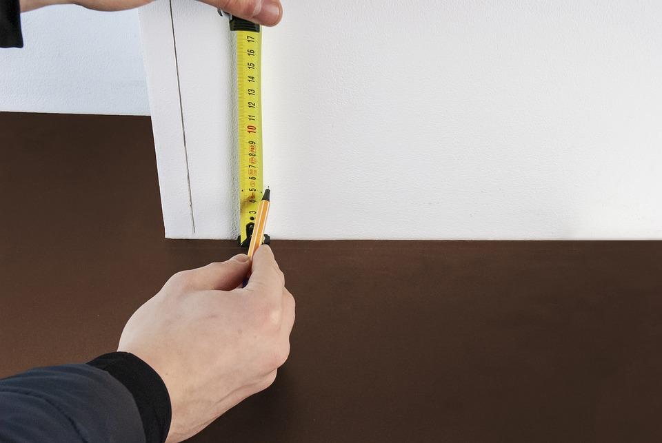 Measure, Scoop, Note, Repair, Deduct, Line, Pencil