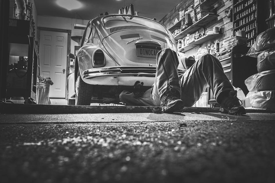 Man, Car, Repair, Car Repair, Car Workshop, Repair Shop