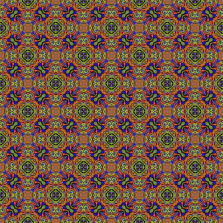 Geometric, Colorful, Tile, Fabric, Repeat, Background