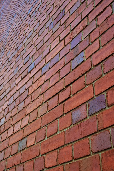Bricks, Red, Rows, Repetition, Wall, Brick, Block