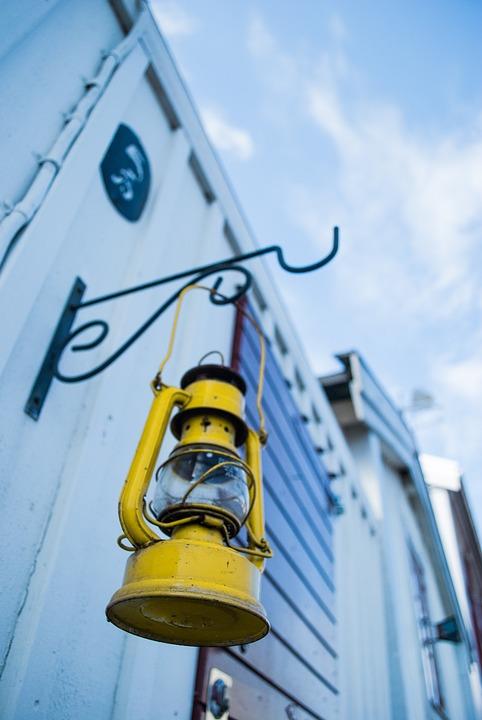 Sweden, Karlskrona, City, Replacement Lamp, Sky, Street
