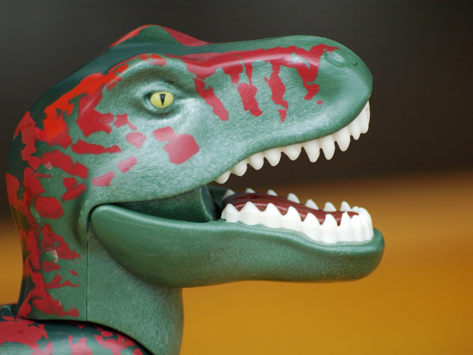 Dino, T Rex, Dinosaur, Replica, Children, Toys