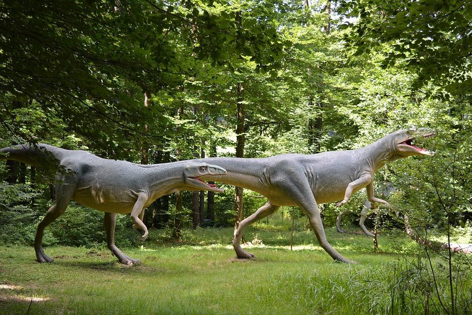 Dinosaur, Prehistoric Times, Reptile, Extinct, Replica