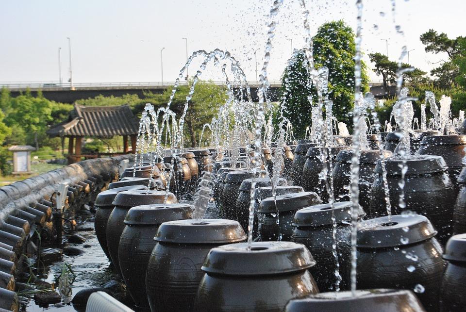 Jar, Background, Water, Republic Of Korea, Traditional