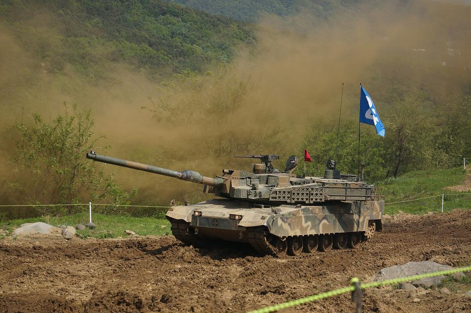 Tank, Soldier, Group, War, Weapons, Republic Of Korea