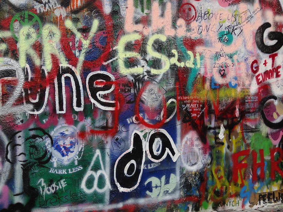 Graffiti, Colorful, Wall, Wall Art, Czech, Republic