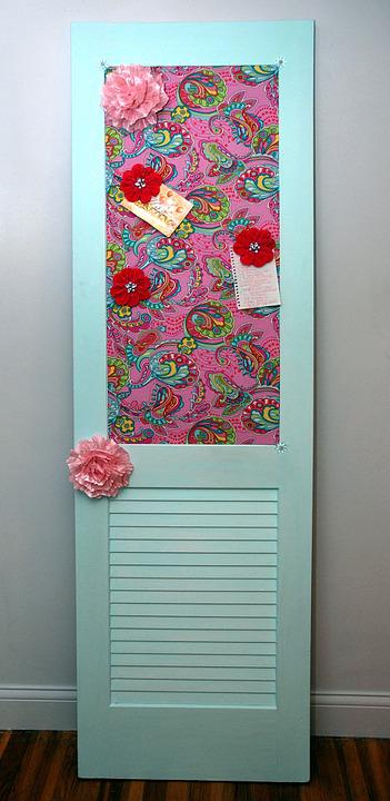 Vintage, Door, Repurpose, Recycle, Home, Entrance