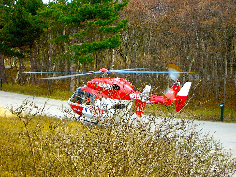 Rescue, Rescue Helicopter, Aviation, Use