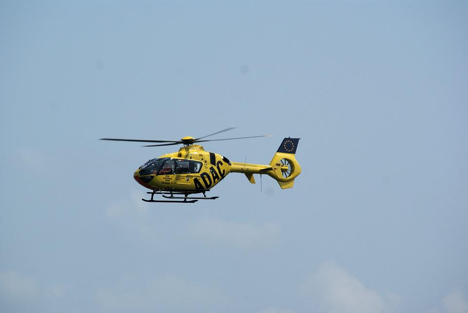 Rescue Helicopter, Help, Accident, Helicopter