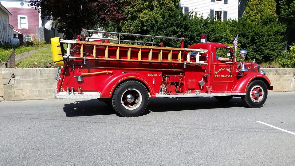 Firetruck, Truck, Fire, Emergency, Vehicle, Rescue