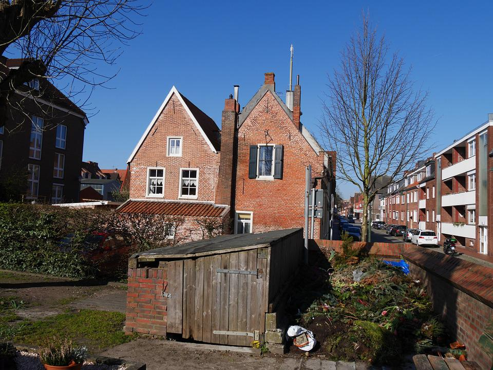 Residence, Historic Preservation, Großfaldern, Emden