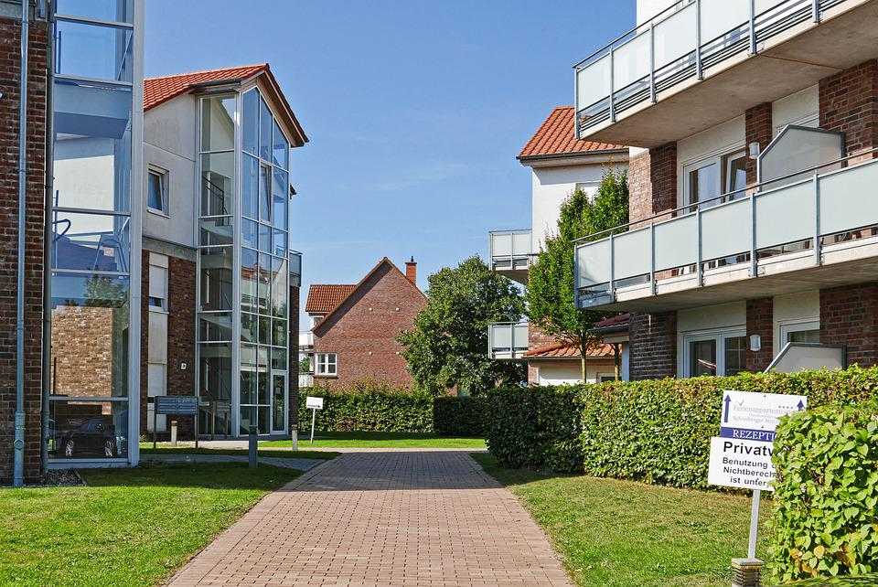 Residential Complex, Apartment Buildings, Architecture