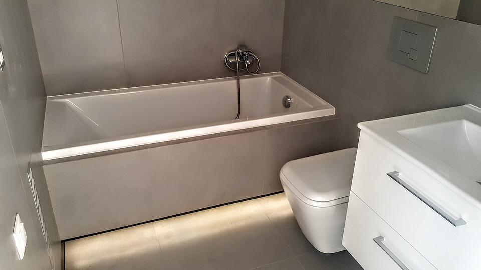 Bathroom, Apartment, Residential Interior