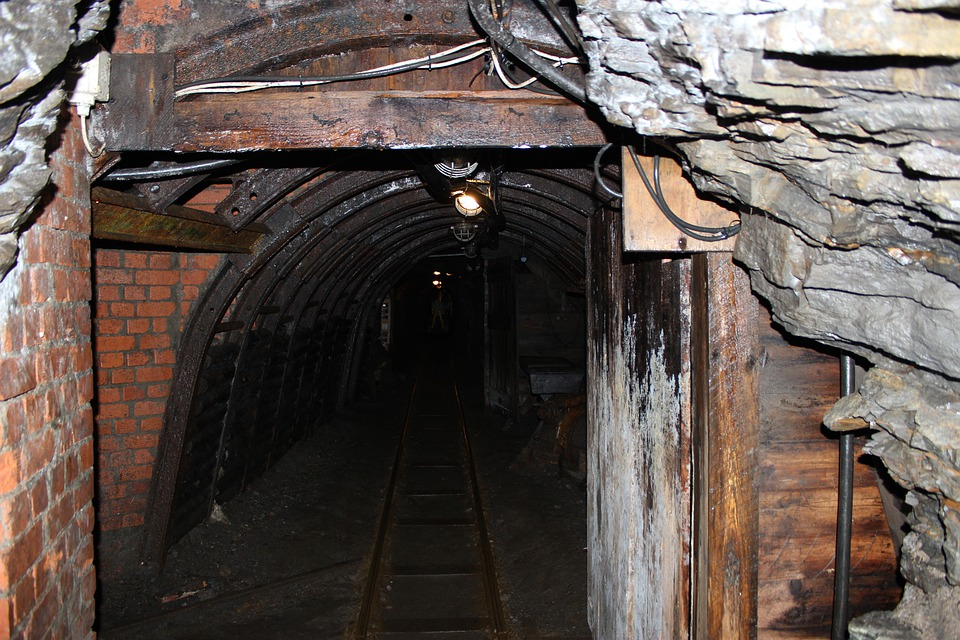 Mining, Tunnel, Resin, Coal Mining, Carbon