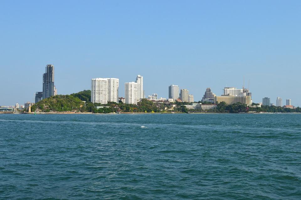 Pattaya, Bay, Pier, Quay, Resort, Thailand, Tourism