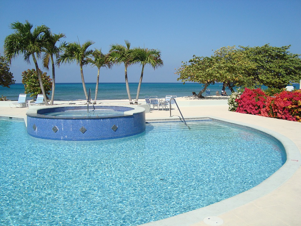 Grand Cayman, Swimming Pool, Summer, Water, Resort