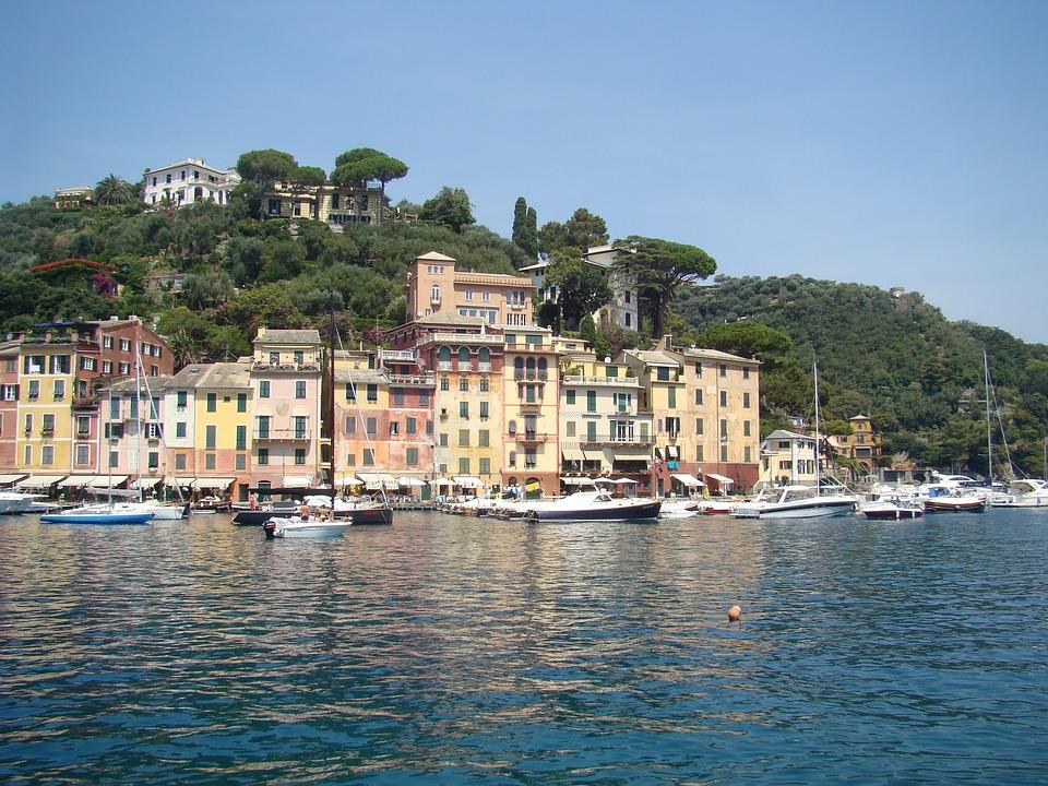 Portofino, From, The, People, City, Seaside, Resort