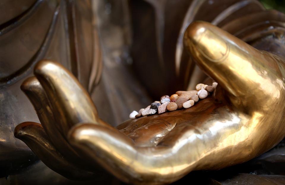 Buddha, Meditation, Buddhism, Rest, Gold