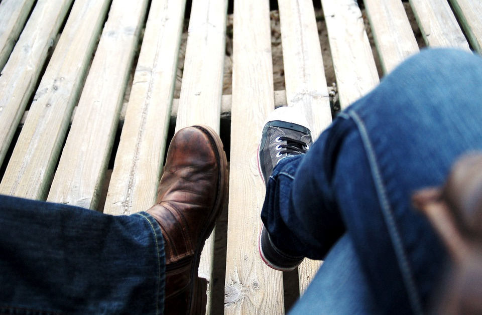 Holiday, Feet, Rest, Converse, Couple, People, Chat