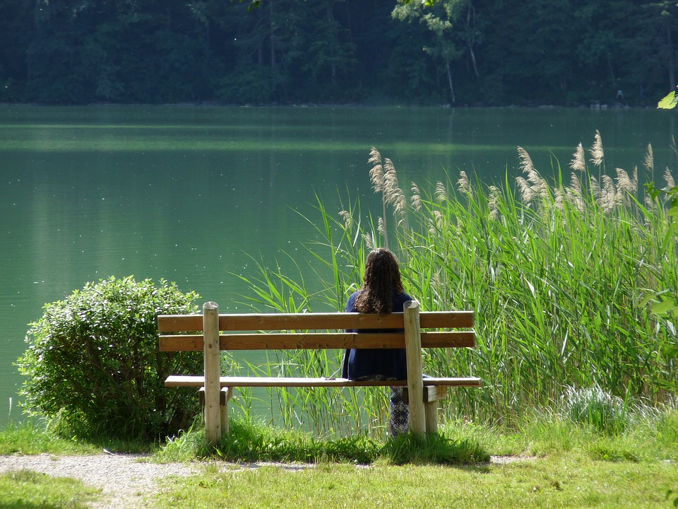 Lake, Nature, Rest, Atmosphere, Bank, Waters