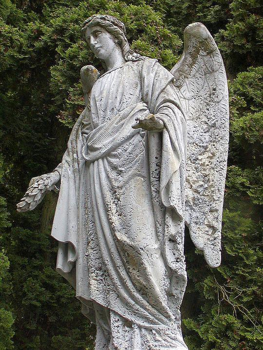 Statue, Cemetery, Rest, Angel, Sadness, Death