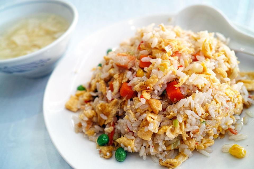 Restaurant, Chinese Cuisine, Fried Rice, Diet, Cuisine
