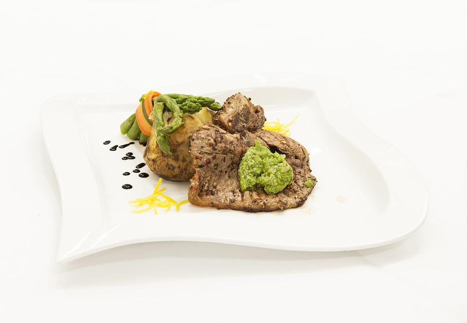 Dish, Kitchen, Restaurant, Meat, Eating