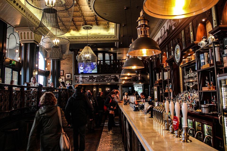 Restaurant, Travel, Nightlife, Inside, London