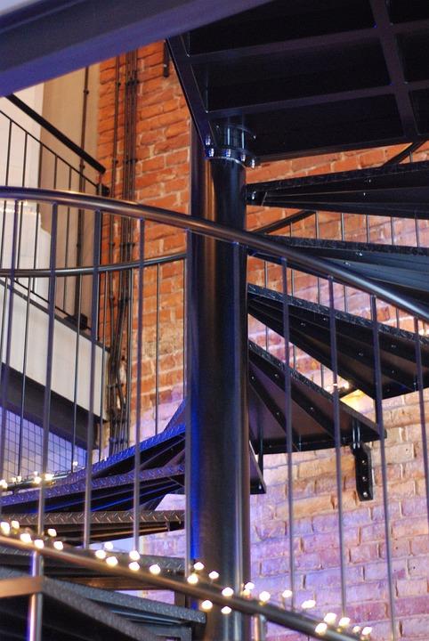 Stairs, Pub, House, Restaurant, Architecture