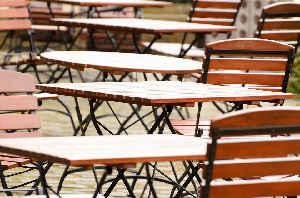 Tables, Chairs, Table, Restaurant, Garden, Furniture