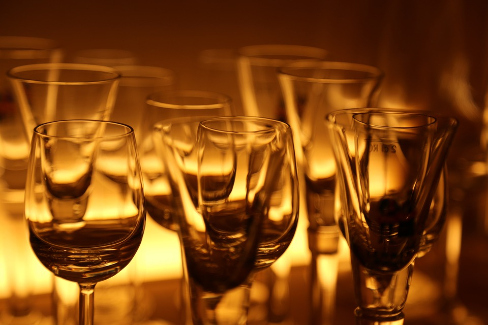 Glass, Glasses, Cocktail, Restaurant, Wine Glasses