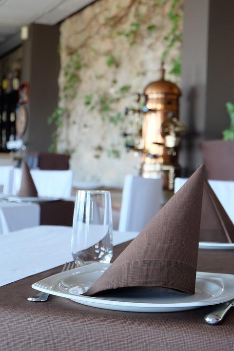 Napkin, Non Woven, Restaurants, Table, Table Decoration
