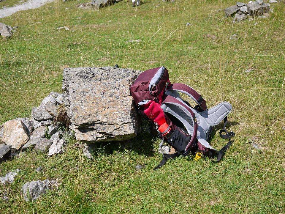 Hiking, Backpack, Hike, Tourist, Resting