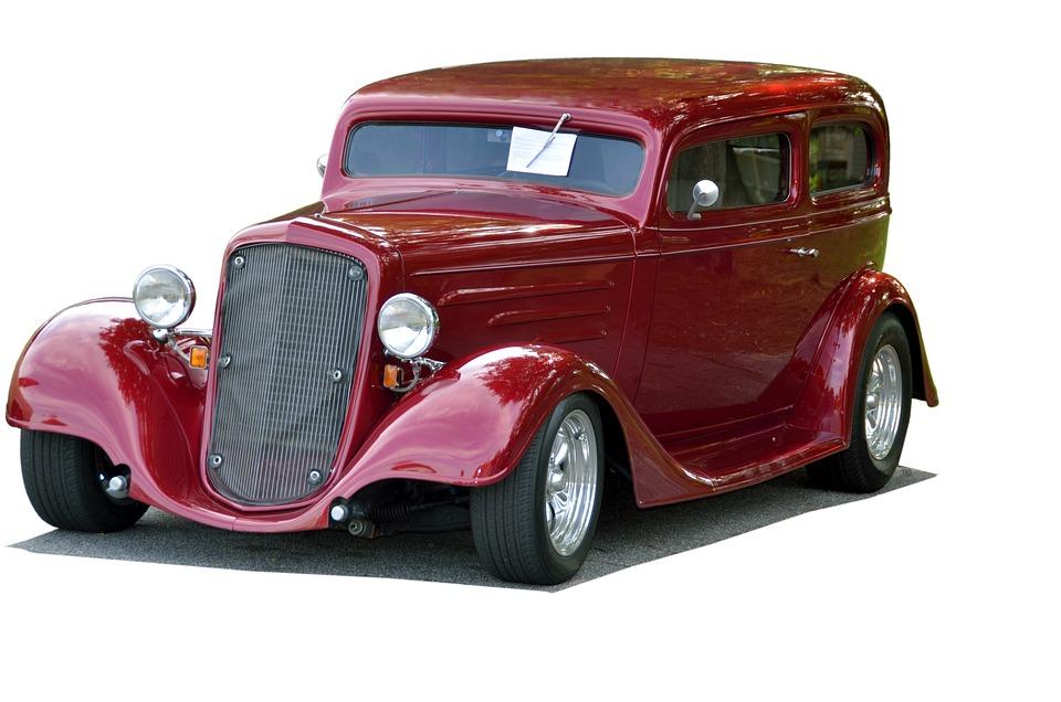 Free photo Restored Shiny Vintage Classic Car Hot Rod - Max Pixel