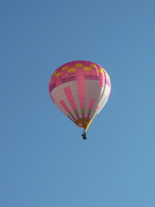 Hot Air Balloon, Sky, Balloon, Colorful, Blue, Retired