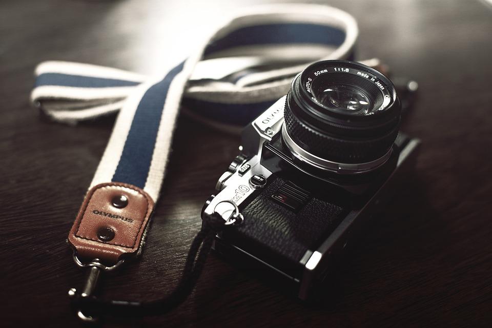 Photography, Photo, Camera, Olympus, Om 10, Retro