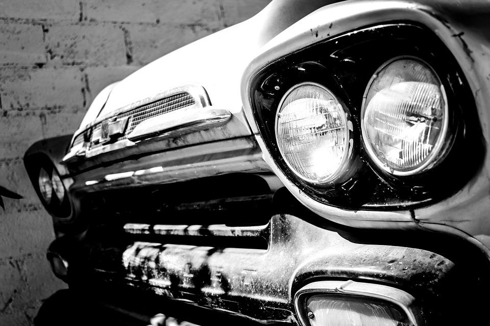 Apache, Vintage, Car, Retro, Classic, Old, Vehicle