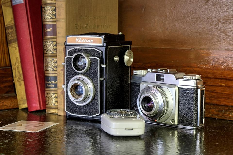 Cameras, Retro, Analog, Old, Vintage, Classic