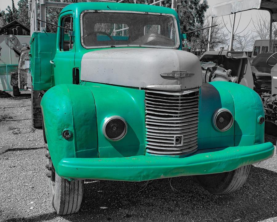 Vehicle, Car, Machine, Nostalgia, Classic, Truck, Retro