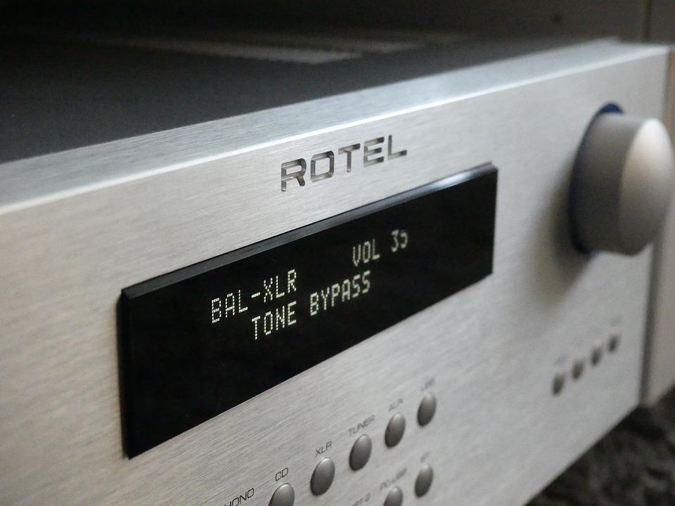 Audio, Music, Sound, Stereo, Retro, Media, Listen, Hifi