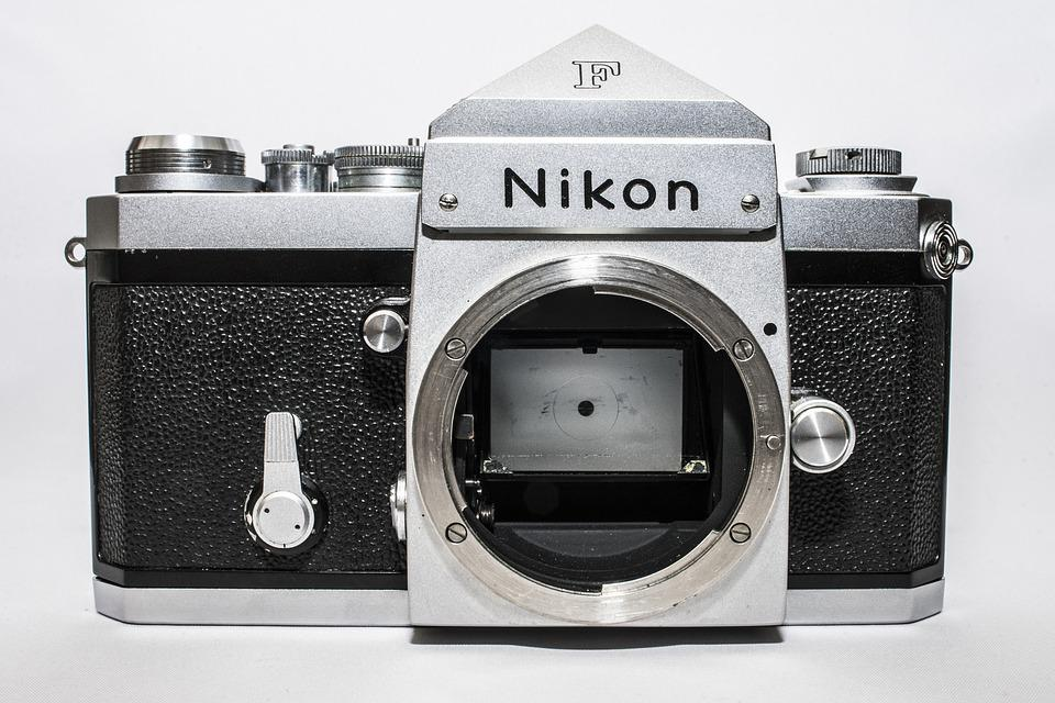 Nikon, Retro, Lens, Old