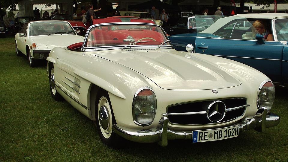 Mercedes, Machine, Retro, Exhibition, Car