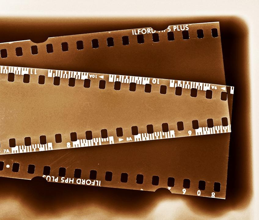 Negative, Negative Strips, Slide, Film, Retro