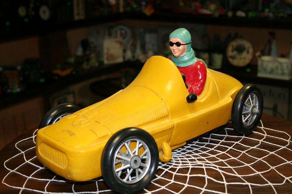 Retro, Car, Nostalgia, Veteran, Mercedes Benz, Toy