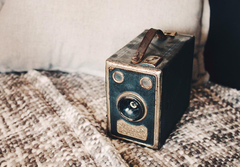 Camera, Lens, Balda Rollbox, Old Camera, Photo, Retro