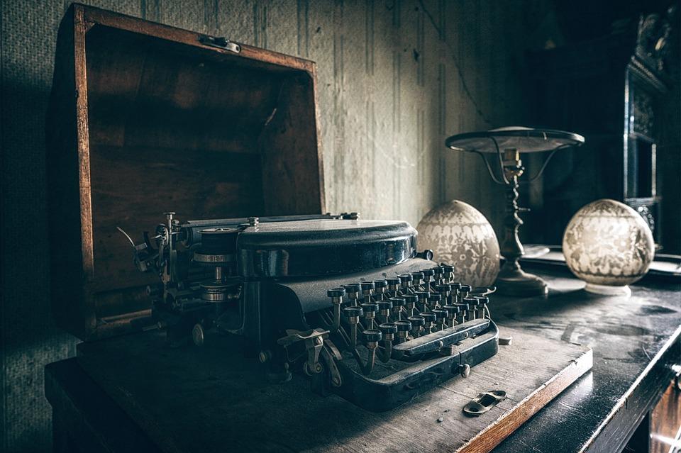 Typewriter, Old, Vintage, Antique, Retro, Writer