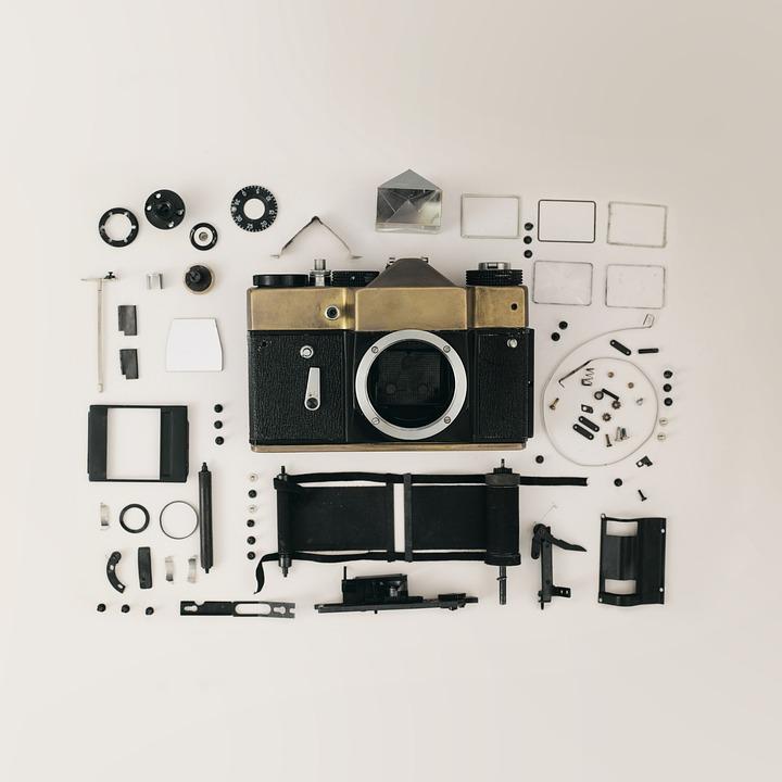Equipment, Technology, Retro, Camera, Vintage, Film