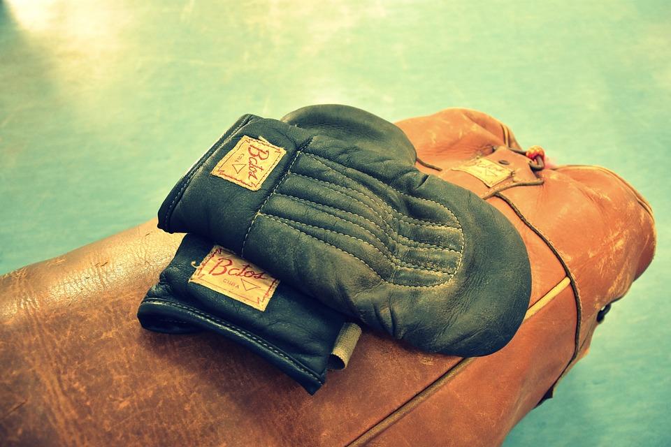 Box, Retro, Training, Gloves, Sport, Cuba, Brown, Boxer