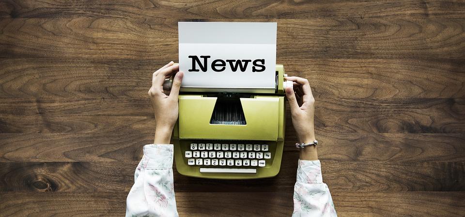News, Typewriter, Text, Hands, Write, Blog, Retro